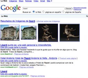 fallo en google